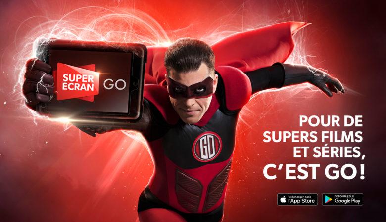 Super Écran GO a maintenant son superhéros : une nouvelle campagne pour Super Écran