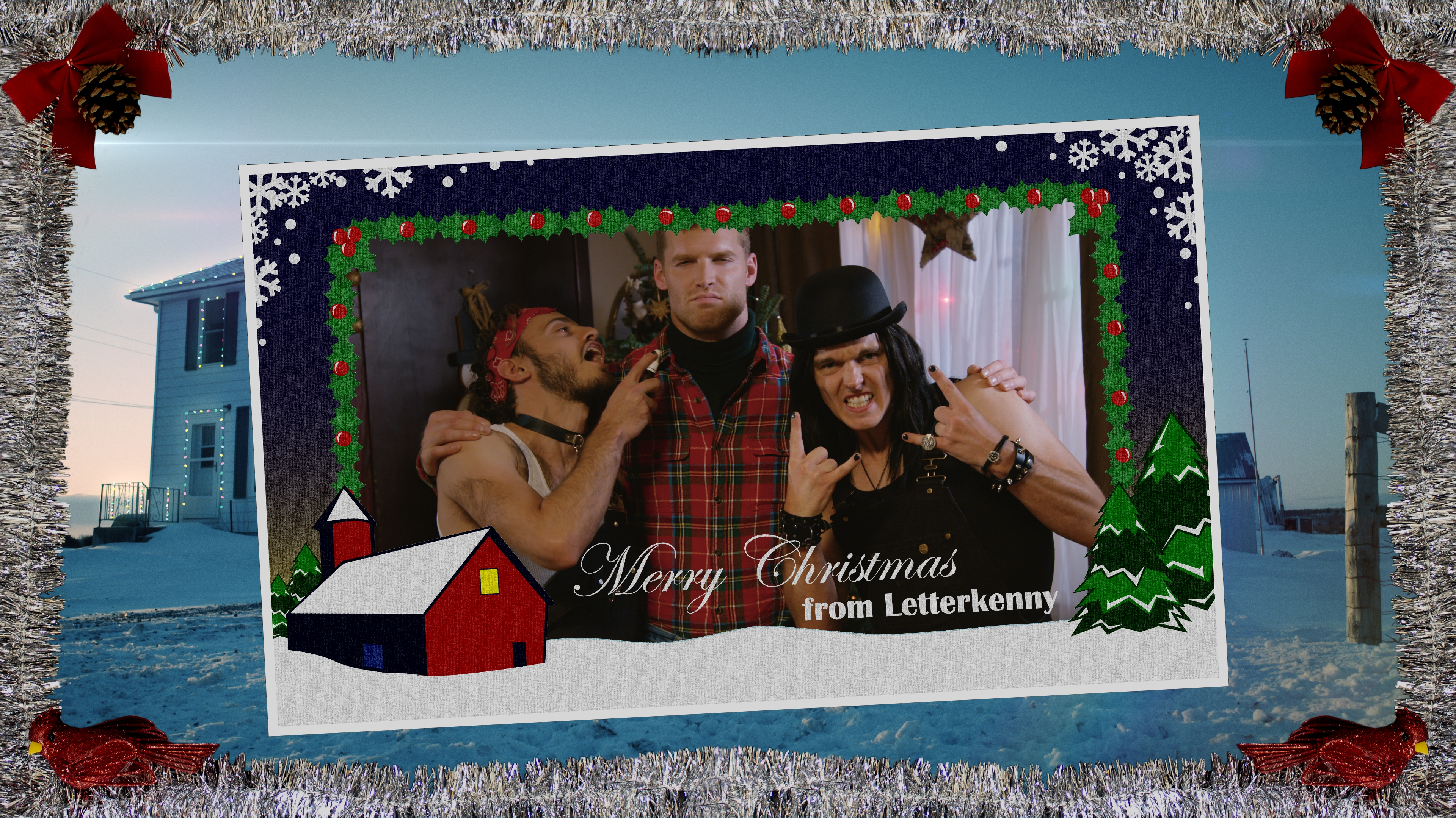 Letterkenny Christmas Special 2020 Crave Gifts Viewers with a Whole Mess of LETTERKENNY Including a