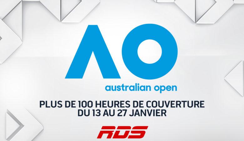 Les INTERNATIONAUX D'AUSTRALIE donnent le coup d'envoi à la saison 2019 de tennis sur RDS