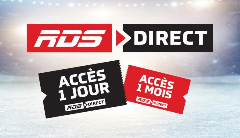 Une première au Canada : RDS et TSN annoncent l'ACCÈS 1 JOUR à 4,99 $ pour RDS Direct et TSN Direct