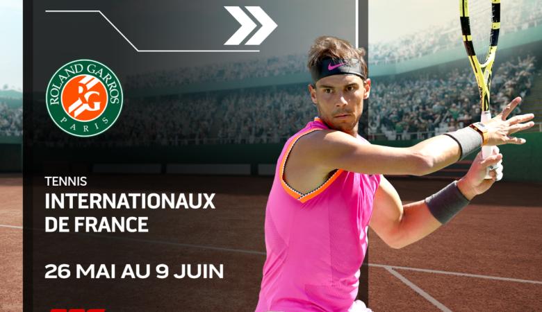 Internationaux de France : encore plus de tennis sur les chaînes de RDS du 26 mai au 10 juin