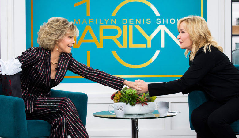 Marilyn Denis Sits Down with Jane Fonda in Exclusive Interview, Photos Available Now!