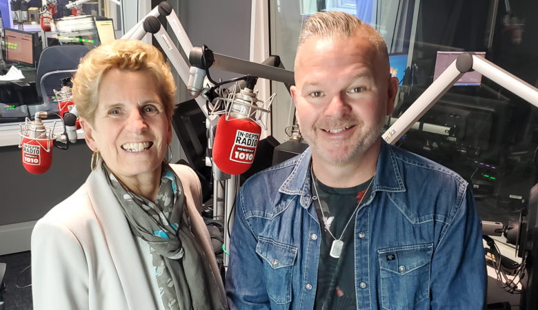 Kathleen Wynne Joins NEWSTALK 1010 with Three-Day Stand as Guest Co-host