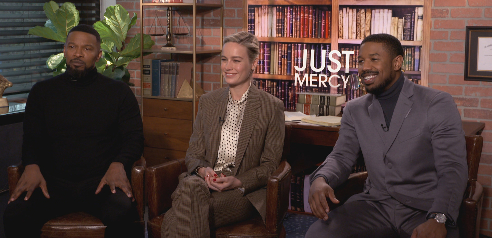 ETALK's Tyrone Edwards Sits Down with Just Mercy Cast in Canadian Exclusive Interview