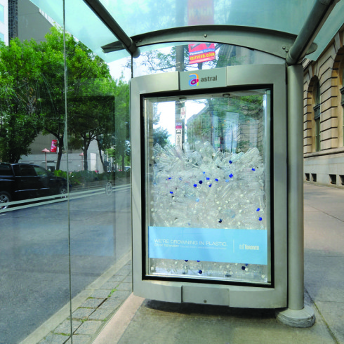Astral Out-Of-Home Product - Transit Shelter QC-TO-RTL