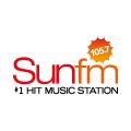 SUN FM LOGO 105.7