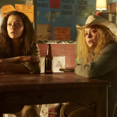 Sarah (TATIANA MASLANY) and Helena (TATIANA MASLANY)