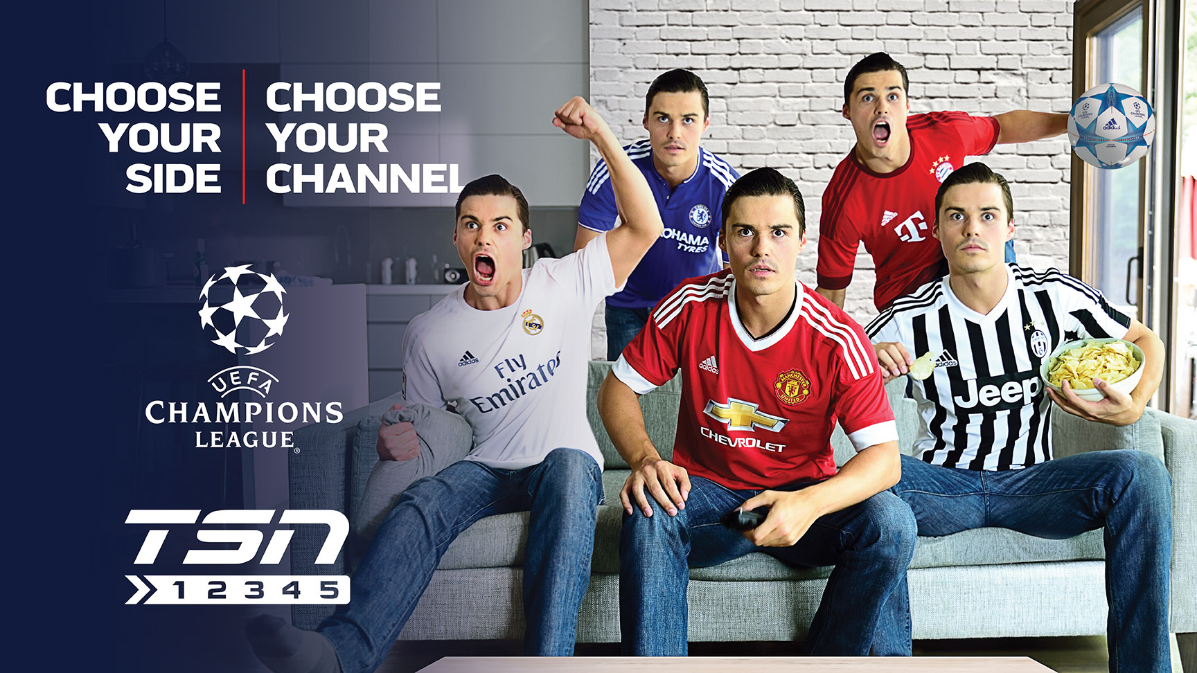 Choose Your Side Choose Your Channel Tsn S Live Multi Feed