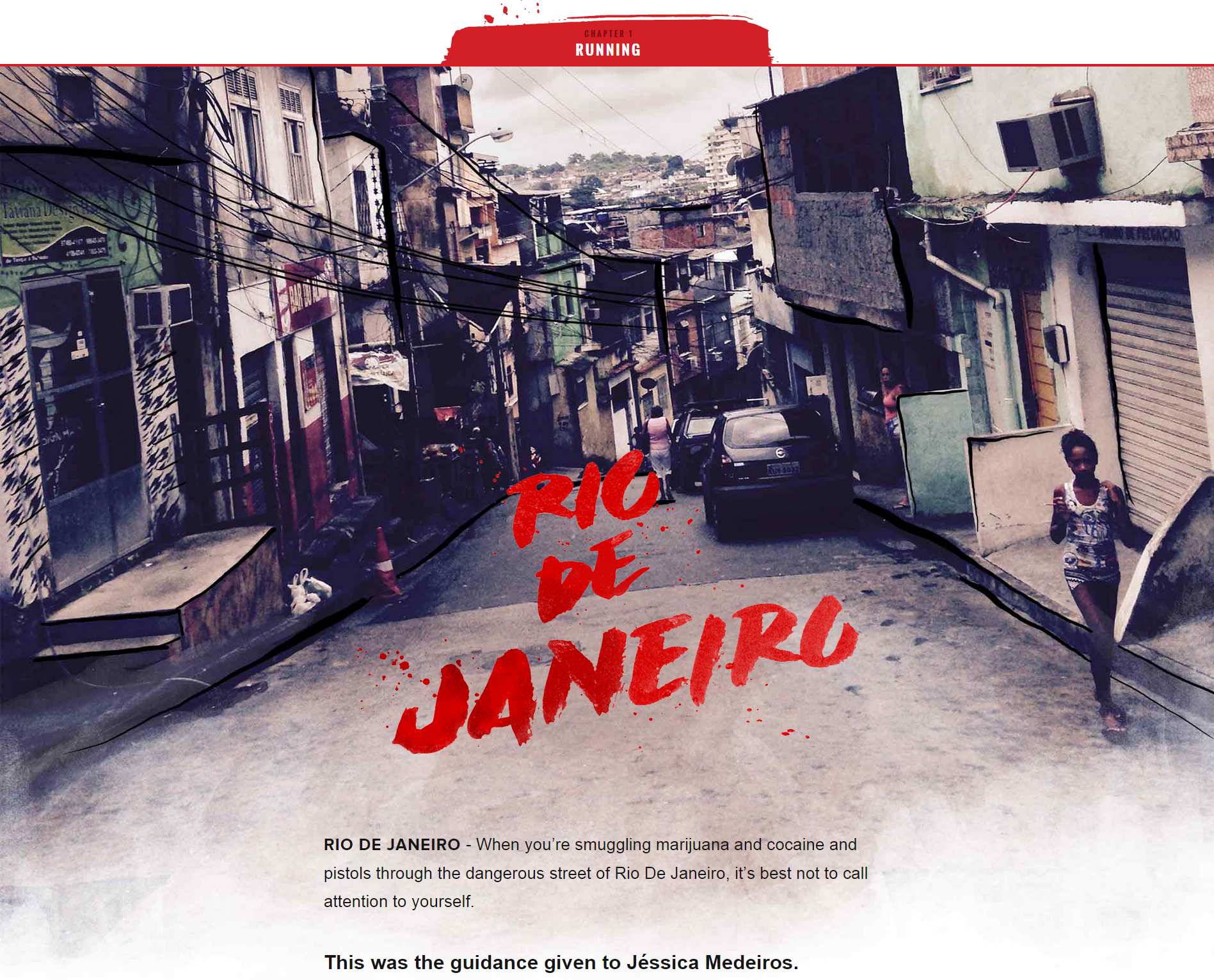 Favela United_home page