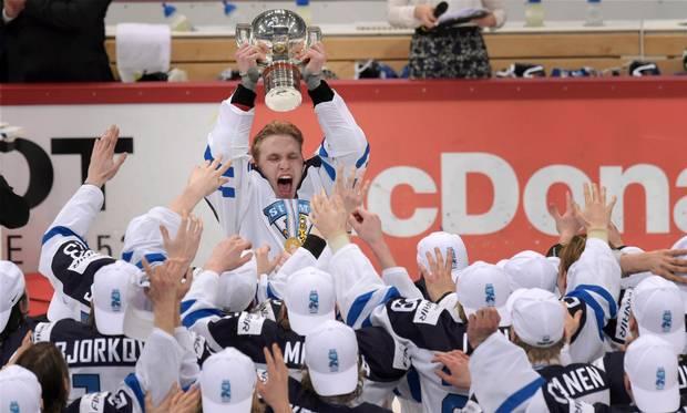 WJC2016 Finland Gold
