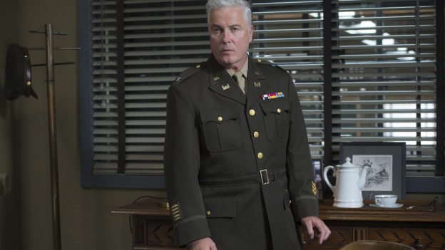 William Petersen as Colonel Darrow in season two of the critically acclaimed and Emmy-nominated drama MANHATTAN