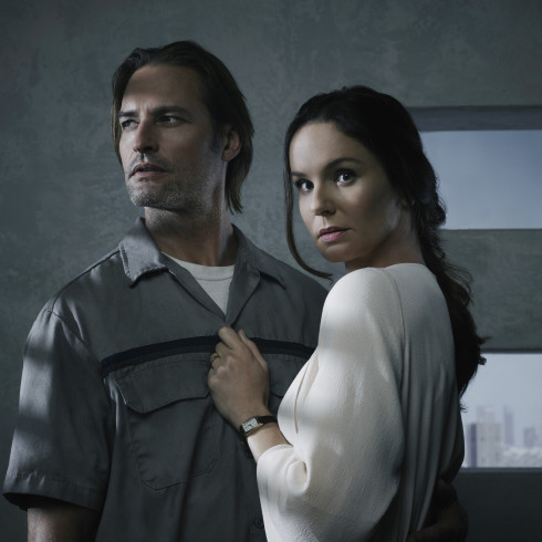 Josh Holloway and Sarah Wayne Callies in all-new sci-fi drama, COLONY