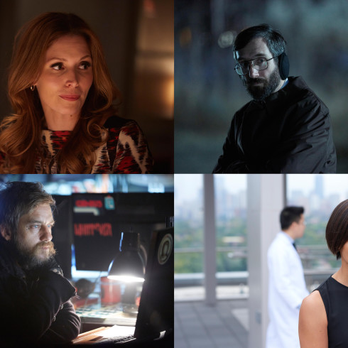 Clockwise: Lauren Hammersley, Gord Rand, Joel Thomas Hynes, and Jessalyn Wanlim join Season 4 of ORPHAN BLACK
