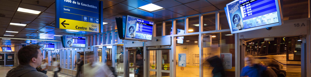 Astral Out-Of-Home Product - Montreal Commuter Trains