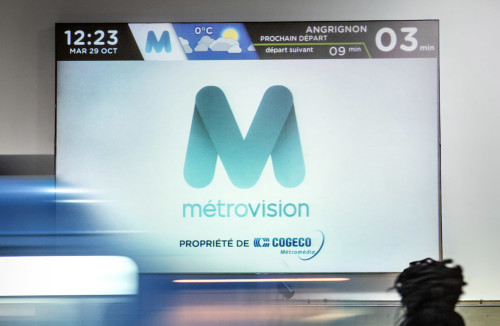 Astral Out-Of-Home Product - Métrovision