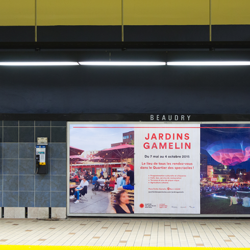 Astral Out-Of-Home Product - Platform Station Posters