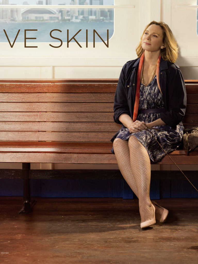 Kim cattrall Sensitive tv skin series