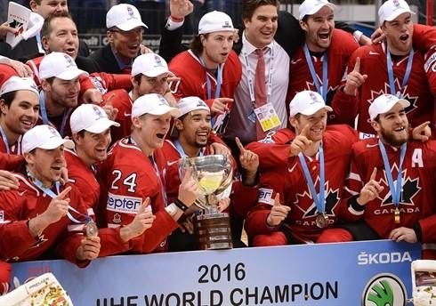 IIHF Canada Gold 2016