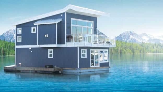 Ma maison flottante bell m dia - Maison flottante ...