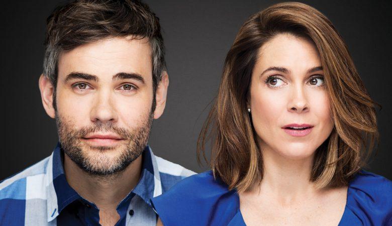 Julie Perreault et Rossif Sutherland dans CATASTROPHE, une nouvelle série originale de Super Écran