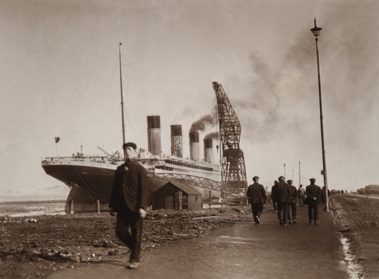 "Fire and Ice: Discovery's Latest Exclusive Canadian Documentary Reveals the Real Story Behind the Downing of the ""Unsinkable Ship"" in TITANIC: NEW EVIDENCE, April 9 at 8 p.m. ET"