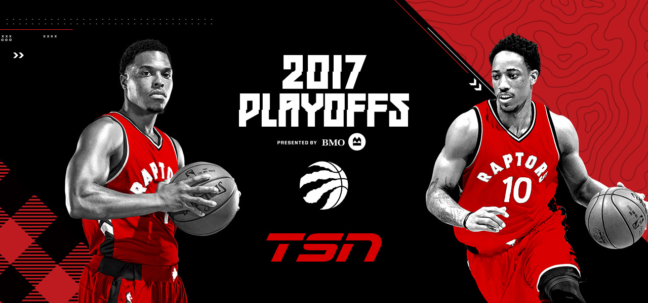 low priced 9d53a a385e Toronto Raptors Charge into the NBA PLAYOFFS, Tipping Off Tuesday, April 18  on TSN – Bell Media