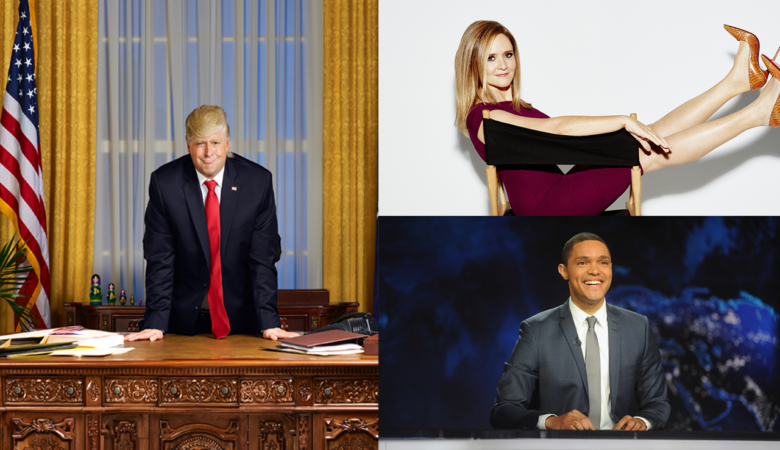 The Comedy Network Trumps Up the Laughs as New Series THE PRESIDENT SHOW Joins its Topical Late-Night Line Up, April 27