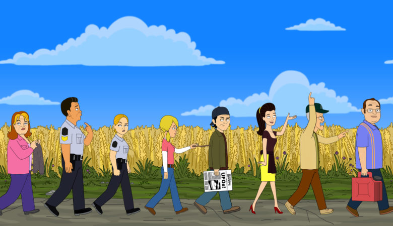 The Comedy Network Gets Pumped with the Debut of CORNER GAS ANIMATED, Monday, April 2