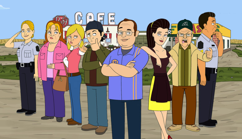 CORNER GAS ANIMATED Is the Most-Watched Original Series Ever on The Comedy Network