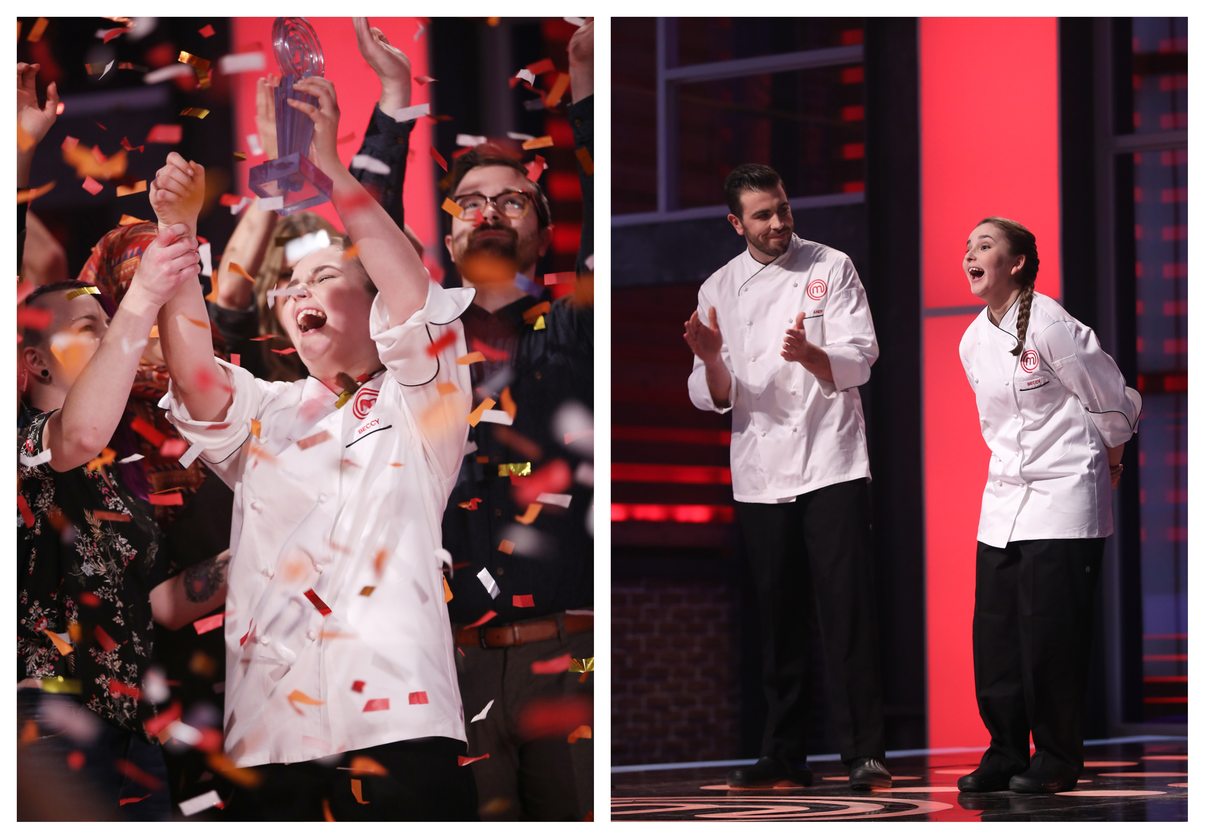 Nineteen Year Old Beccy Stables Is The Season 5 Winner Of Ctv S Masterchef Canada Bell Media