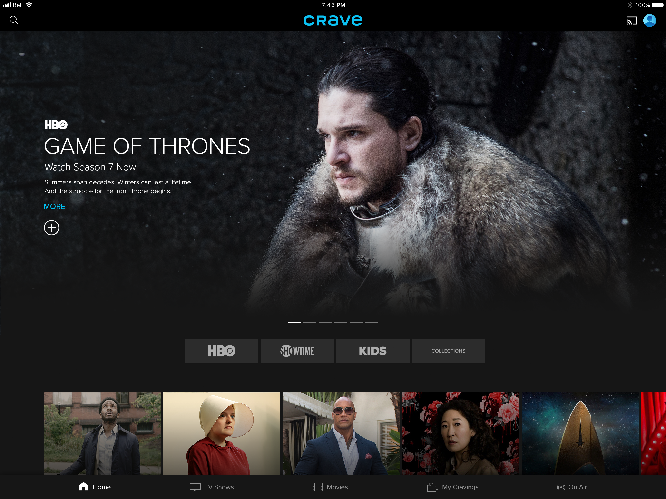 Bell Media S The Movie Network Hbo Canada And Cravetv Come Together As The All New Crave Bell Media
