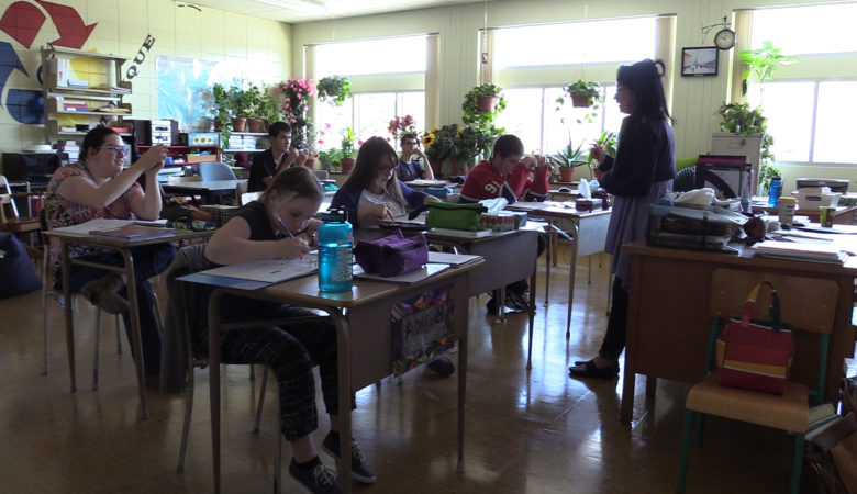 SYLVIE À L'ÉCOLE à Canal D : un documentaire touchant et lumineux sur une enseignante et ses élèves aux besoins particuliers