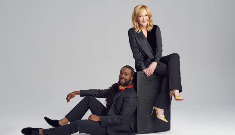 Marilyn Denis and Jamar McNeil Co-Host New Morning Show MARILYN DENIS AND JAMAR on CHUM 104.5