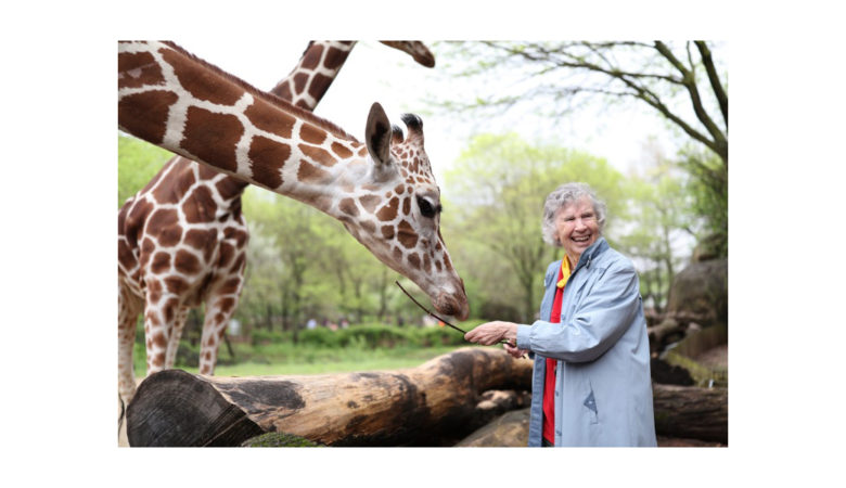 Crave Original Documentary THE WOMAN WHO LOVES GIRAFFES Premieres on International Women's Day, March 8