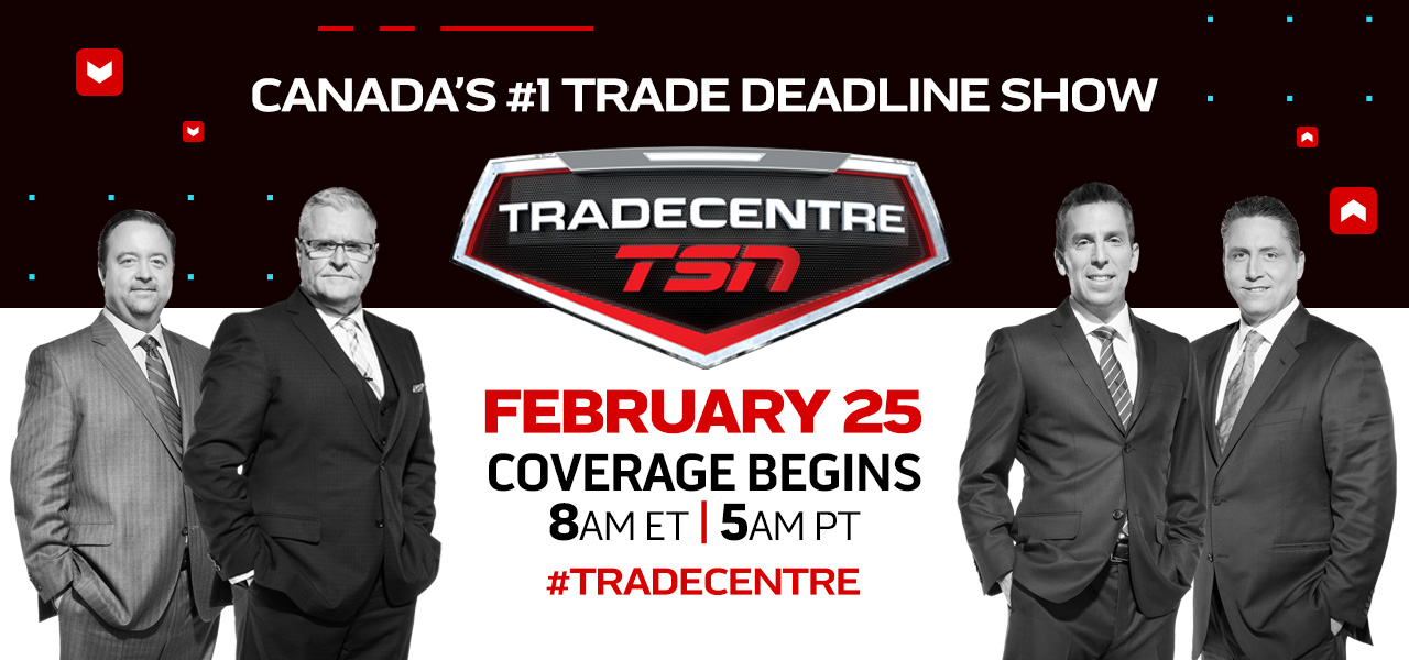TSN's #TRADECENTRE Covers Every Angle of Trade Deadline Day, Monday