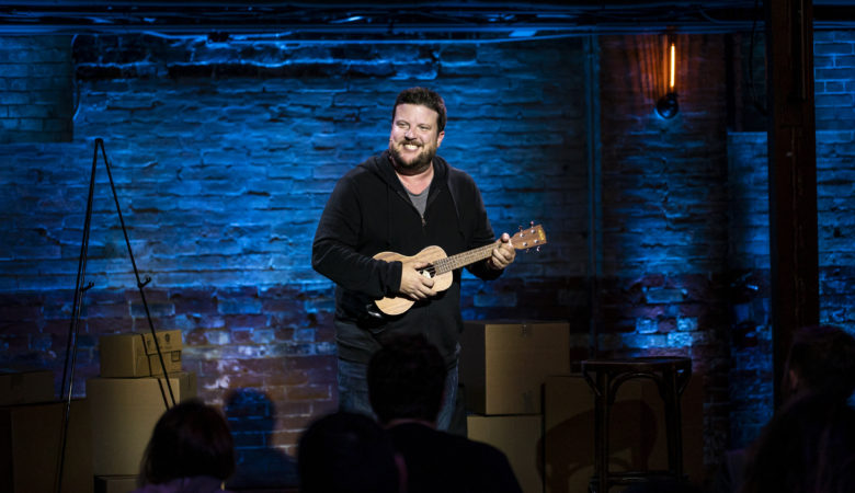 Comedian Mark Forward spares a moment despite the self-fulfilling success of MARK FORWARD WINS ALL THE AWARDS on Crave