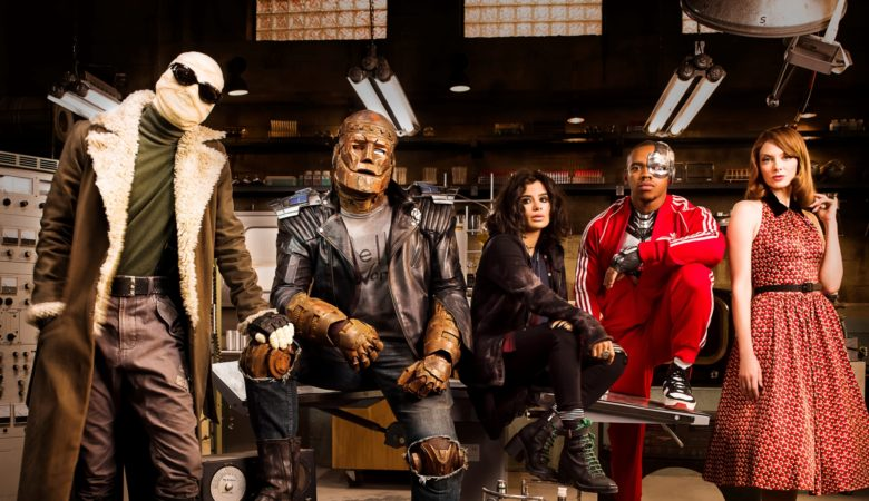 The Misfit Super Heroes of DOOM PATROL Bring the Fight to Space When the Series Premieres April 2