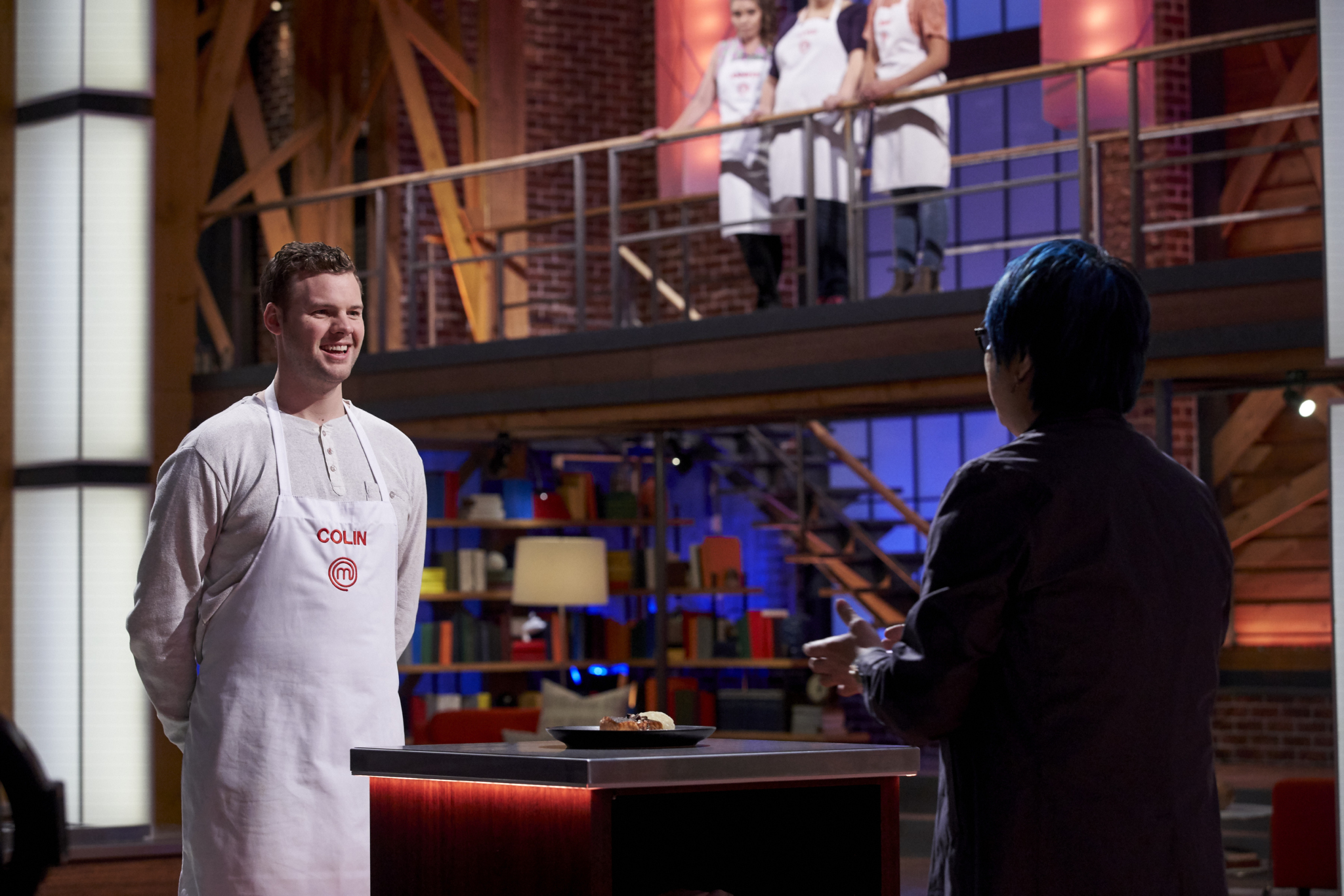 MASTERCHEF CANADA Judges Sour on Colin's Savory Cheesecake