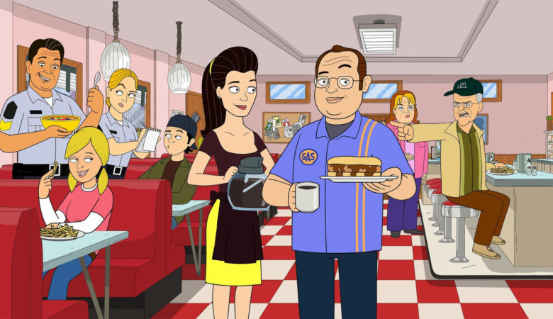 The Comedy Network's #1 Original Series, CORNER GAS ANIMATED, Returns Canada Day