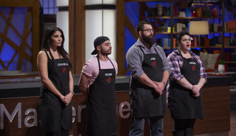 Gain was Worth the Pain for Rozin on MASTERCHEF CANADA