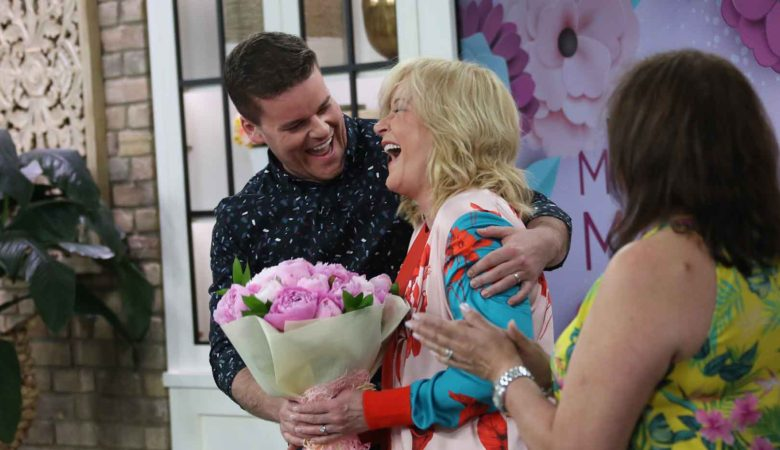 Adam Wylde Surprises Mom, Marilyn Denis, Live On-Camera for Mother's Day