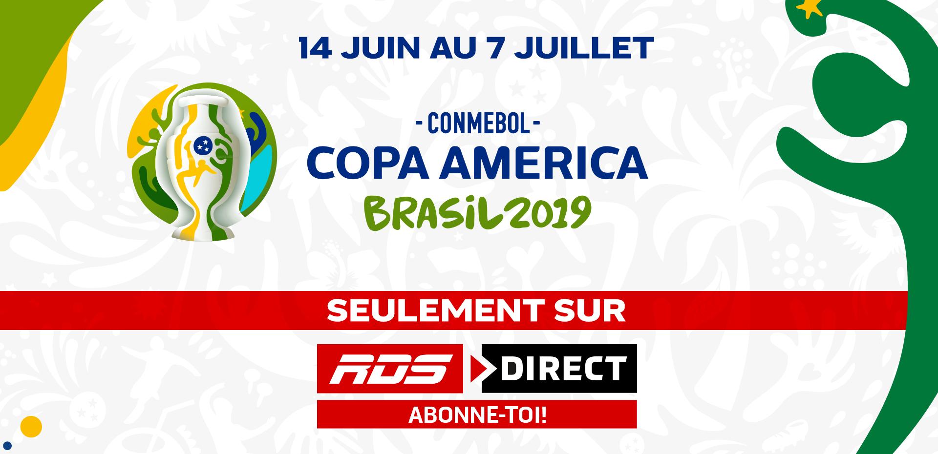 Copa America Calendrier.Tous Les Matchs De La Copa America En Exclusivite Sur Rds