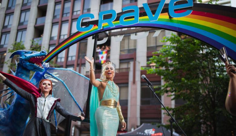 Pride Toronto with Crave