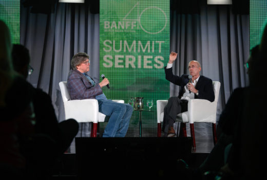 Industry Leaders Randy Lennox and Jeffrey Katzenberg Talk Innovation at Banff Festival