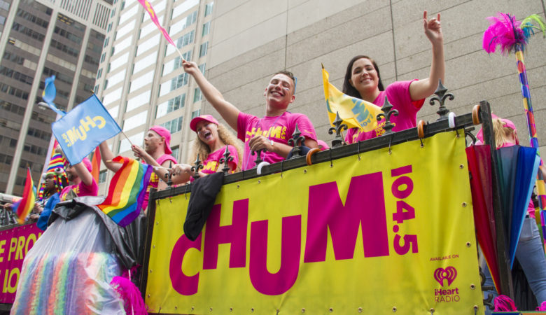 Crave and CHUM 104.5 Celebrates Pride Toronto This Weekend