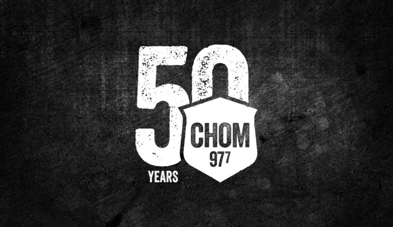 CHOM 97 7 : 50 ans de rock à Montréal!